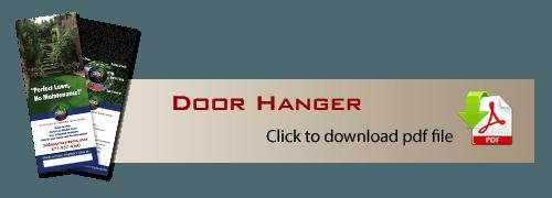 Marketing Door Hanger