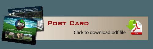 Marketing Post Card