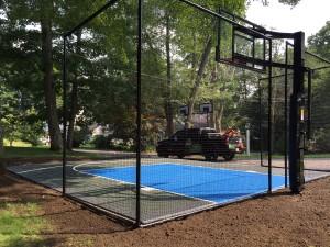 athletics backyard court