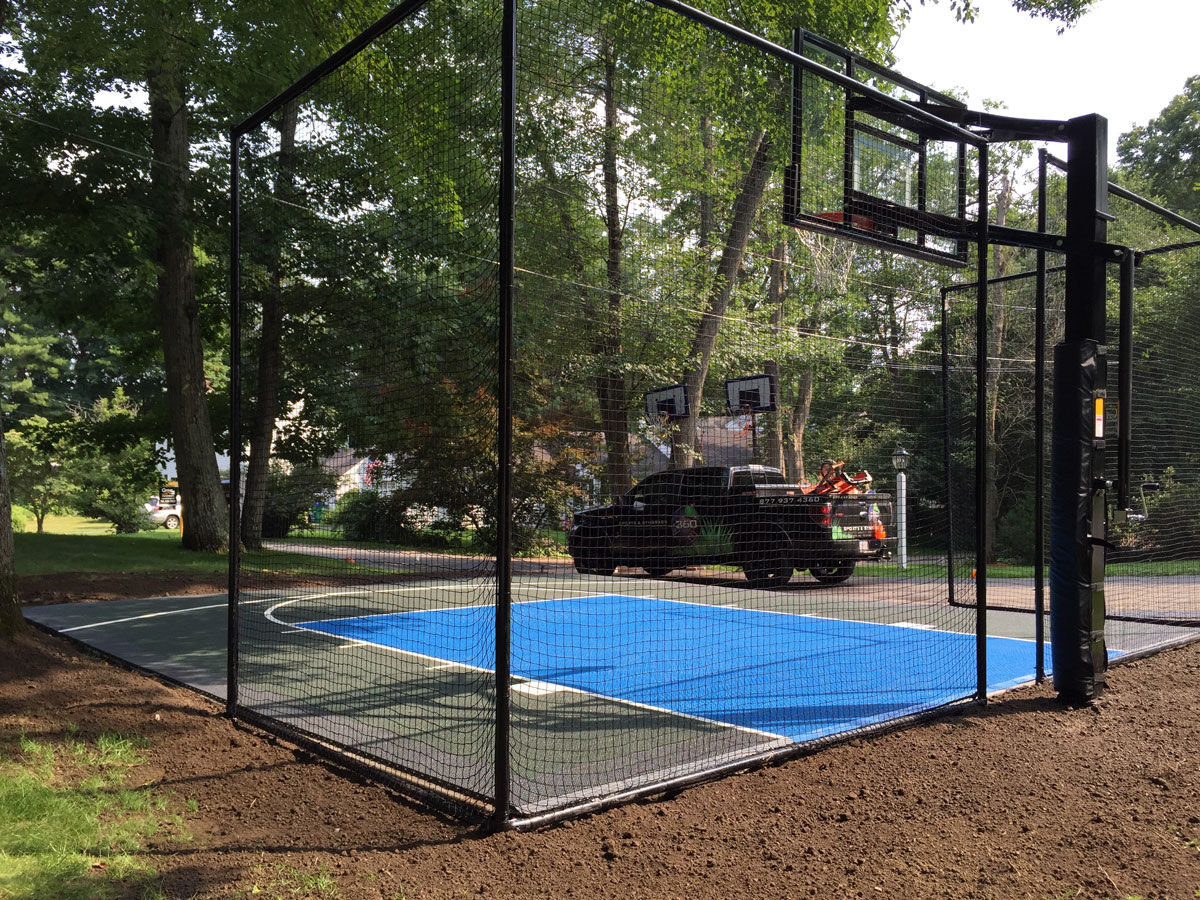 athletics backyard court