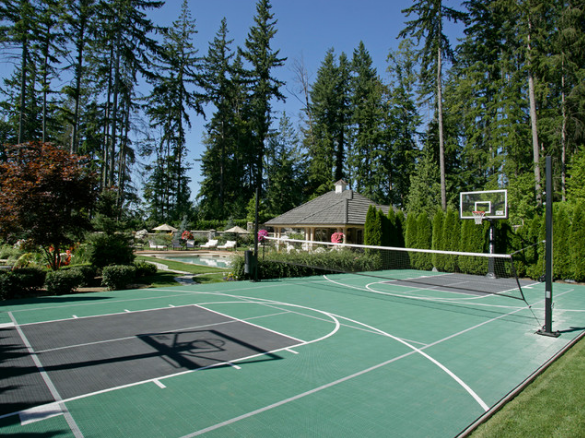 Get the Best Basketball Court for your Backyard from 360 ...