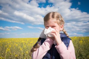 artificial turf helps to manage allergies