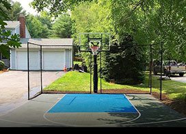 Backyard Basketball Court Packages | Greater Boston ...