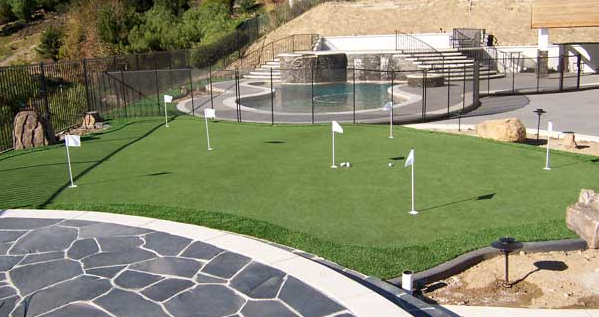 Backyard Putting Green 2020