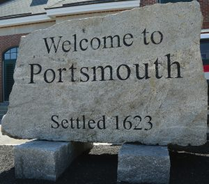 Portsmouth NH sign